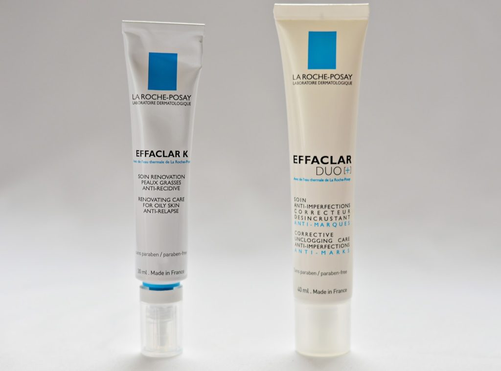 effaclar k i effaclar due plus